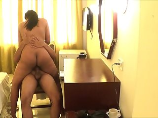Hot punjabi wife riding me, her wet cunt is way too awesome